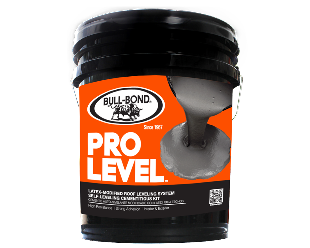 Self Leveling Roof Coating : Pro level™ bull bond