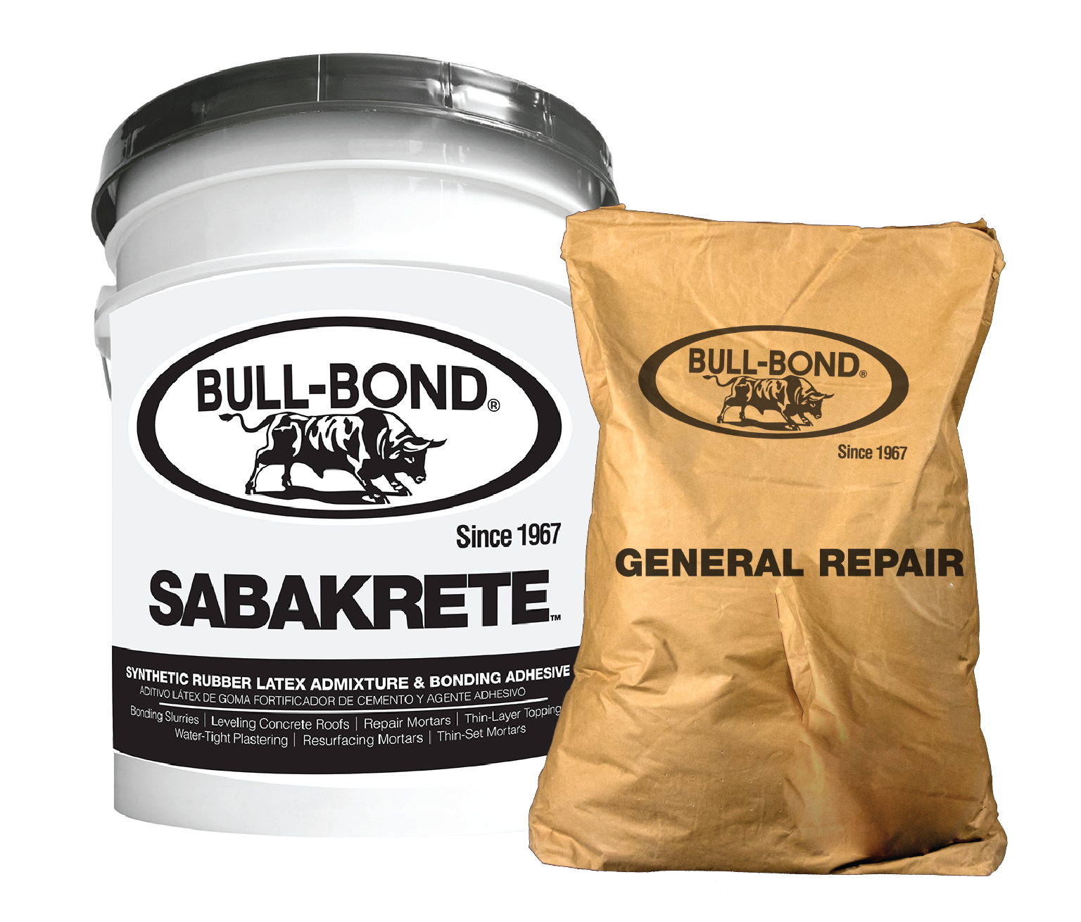 SABAKRETE + SACO-GENERAL REPAIR BULLBOND